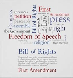 1st Amendment Word Cloud